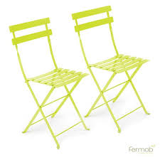 Fermob Bistro Chair Cushions Fermob Bistro Metal Chair Pair
