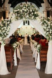 for wedding ceremony flowers bouquets aisle decor for church wedding flowers wedding