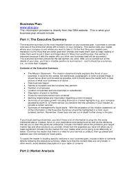 sba business plan template e commercewordpress