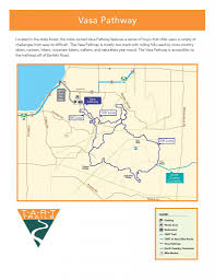 Michigan Trail Maps by Vasa Pathway Tart Trails Inc