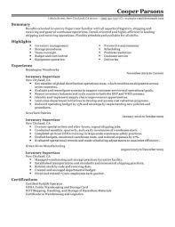 Resume Livecareer Best Inventory Supervisor Resume Example Livecareer Inside Job
