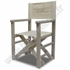 siege metteur en fauteuil metteur en scène gris personnalisé diabolo