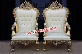 indian wedding chairs for and groom wedding throne king and chair for sale dstexports