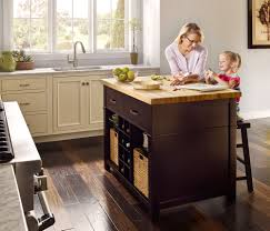 Installing Kitchen Island Prefabricated Cabinets Lakeside Cabinets And Woodworking