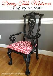 I LOVE PAINT At Home With The Barkers - Painting dining room chairs