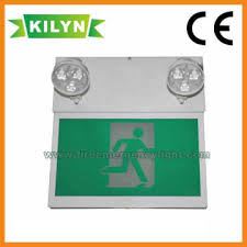 exit emergency light combo kln cacombo 001 china exit emergency light combo with ce approved