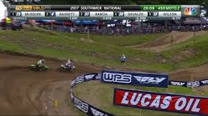 ama motocross on tv 450 class moto 2 ama motocross southwick national 2017 youtube