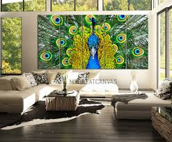 large wall art 5 panel peacock canvas print peacock canvas art large wall art 5 panel peacock canvas print peacock canvas art print wall mural
