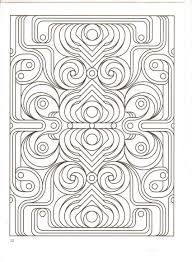 geometry coloring page fall coloring pages for fractal coloring