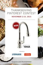 kitchen faucets atlanta win this kohlerco artifacts pull out three spray kitchen faucet
