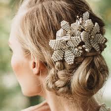 chain headpiece luxury handmade pear women charm hair band chain
