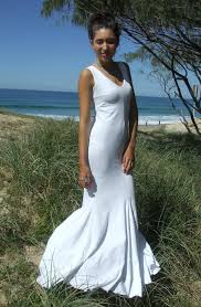 maxi dress beach wedding luxury brides
