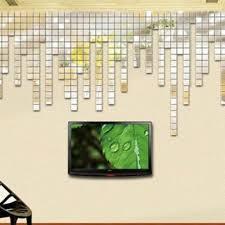 online get cheap wall mirror decals aliexpress com alibaba group