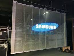 transparent led displays glass led display transparent led banner