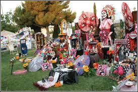 dia de los muertos decorations dia de los muertos the commander