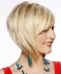 light and wispy bob haircuts short straight formal bob hairstyle with side swept bangs light