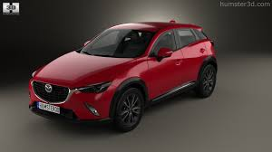 mazda crossover models 360 view of mazda cx 3 2016 3d model hum3d store