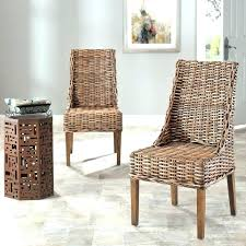 Indoor Wicker Dining Room Chairs Dining Table With Rattan Chairs Rattan Dining Room Chair Furniture