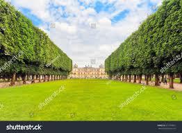 luxembourg palace park paris jardin du stock photo 571797061