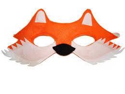 Halloween Mask Crafts Children U0027s Woodland Animal Fox Felt Mask Magical Attic