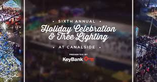 2016 celebration tree lighting at canalside