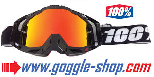 spy motocross goggles replacement mirror lens 100 strata accuri racecraft goggles