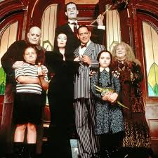 Addams Family Costumes Brood Dressed Up As The Addams Family For Halloween Won Every