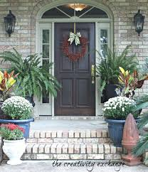 front doors outdoor fall wreaths front door fall front door