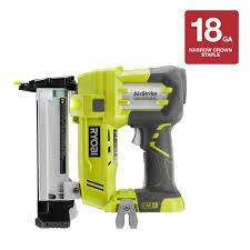 Best Pneumatic Staple Gun For Upholstery Ryobi 18 Volt One Airstrike 18 Gauge Cordless Narrow Crown