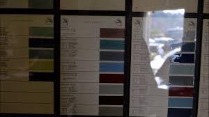 vw original color chart glassomax paint chart with formula mula