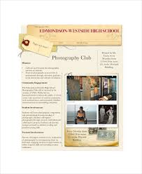photography marketing template u2013 6 free pdf documents download