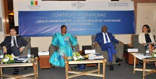 dakar conference on the day of international criminal justice