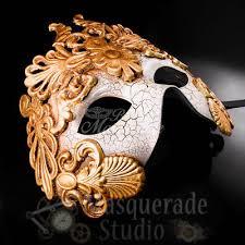 mens venetian masks mens gold masquerade mask warrior venetian mask with