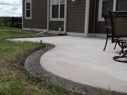 Ideas For Concrete Patio Concrete Patio Designs Models U2014 Home Ideas Collection Beautiful