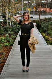 black and gold jumpsuit black jumpsuit with gold belt confessions of a product junkie