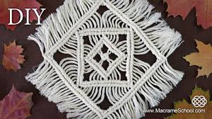 macrame tablecloth tutorial table mats table decoration youtube