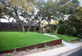 splendid steel retaining wall remodeling ideas with front yard