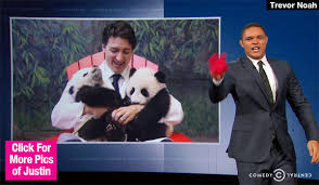 Trevor Noah Memes - watch trevor noah s justin trudeau crush he throws panties at