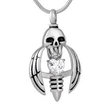pet ashes jewelry cmj9793 stainless steel bee shape pendant cremation jewelry for