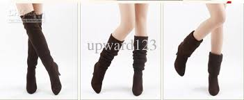 womens boots on sale sale s shoes the knee thigh stretchy high heels