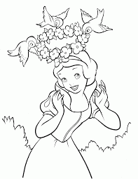 disney princess coloring pages snow white coloring home