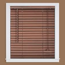 maple faux wood blinds blinds the home depot