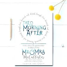 after wedding brunch invitation formidable day after wedding brunch invitation 89 day after