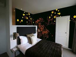 bedroom wallpaper high resolution ideas for wall yellow paint in