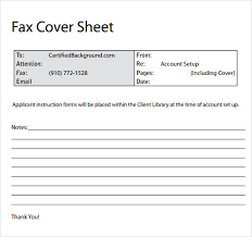 templates for fax cover sheets u2013 aiyin template source