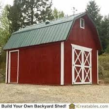 Small Barn Plans 23 Best 12x16 Shed Plans Images On Pinterest Shed Plans Garden