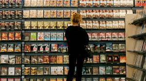 a brief illustrated history of blockbuster which is closing the