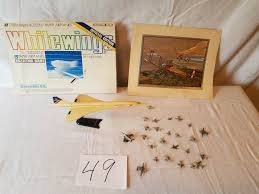 puget sound estate auctions lot 49 airplanes set of paper