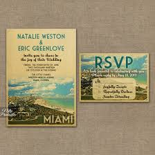 wedding invitations miami miami florida save the date postcards vtw nifty printables
