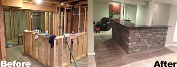 basements pronto remodeling